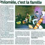 Article Philomèle Sud Ouest janvier 2015